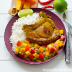 Pork Chops With Mango