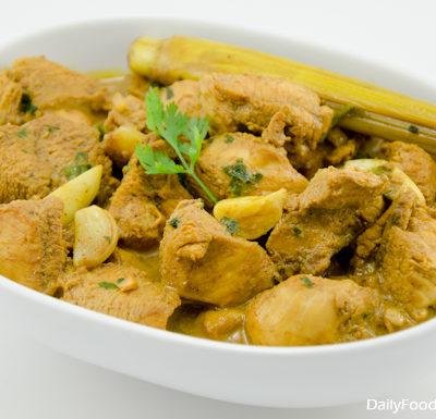 Sri lankan Spicy Chicken Coconut Curry