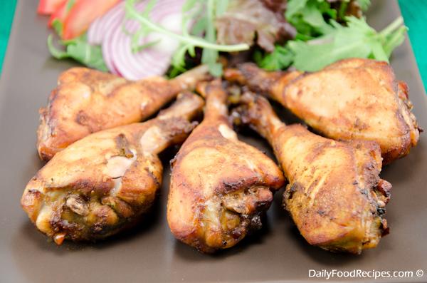 Spicy Roast Chicken Legs