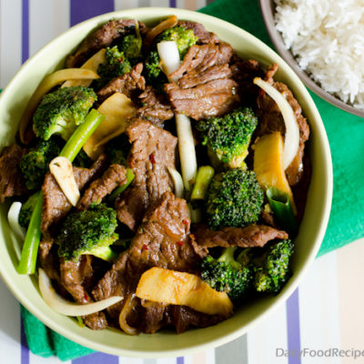 Beef with Broccoli Stir Fry
