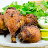 Oven Baked Chicken Drumsticks