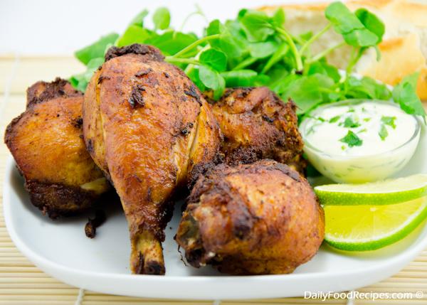 Oven Baked Chicken Drumsticks