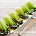 Baby Bok Choy (Chinese Cabbage) Stir Fry With Oyster Sauce