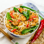 Stir Fried Noodles With Shrimp