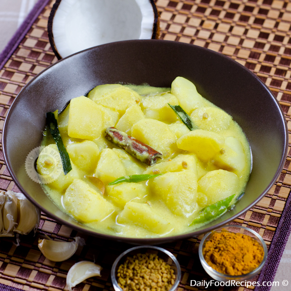Potato Curry (Ala Kiri Hodi)