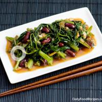 Water Spinach Stir Fry (Kangkung Thel Dala)