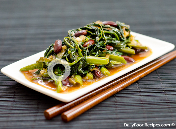 More Images: Water Spinach Stir Fry