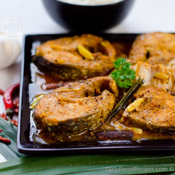 Red Fish Curry (Miris Malu)