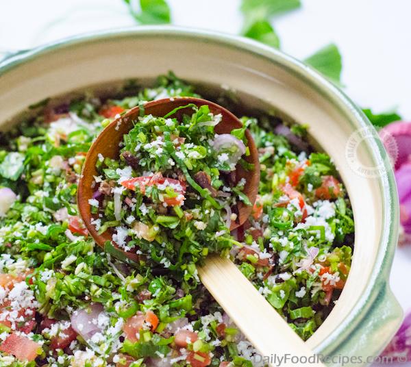 Gotu Kola Sambola (Gotu Kola Salad)
