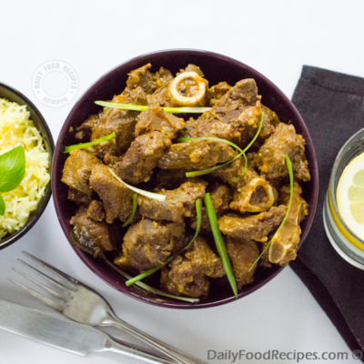 Sri Lankan Mutton Curry (Elu Mas Curry / එලු මස් කරි)